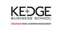 Logo for Kedge Business School from France