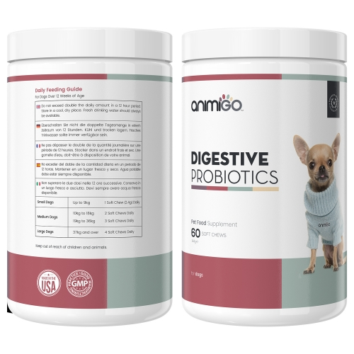 Digestive Probiotics for Dogs
