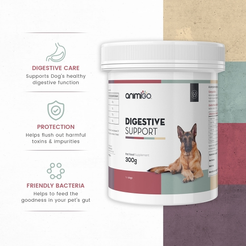 Digestive Support for Dogs 300g Powder for Wholesale