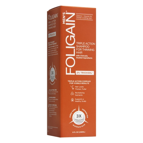 Foligain™ Trioxidil Shampoo for Men