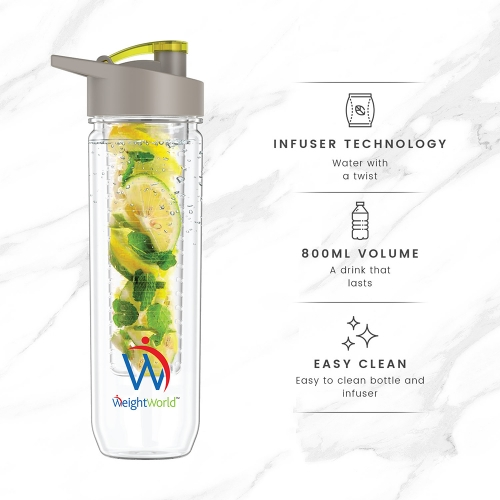 WeightWorld Fruit Infuser 800ml Bottle for wholesale