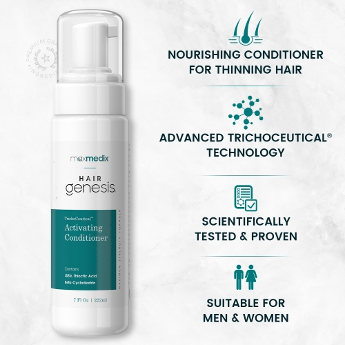 maxmedix HairGenesis TrichoCeutical Activating Conditioner