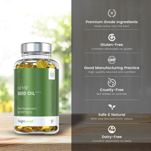 Hemp Seed Oil for Wholesale