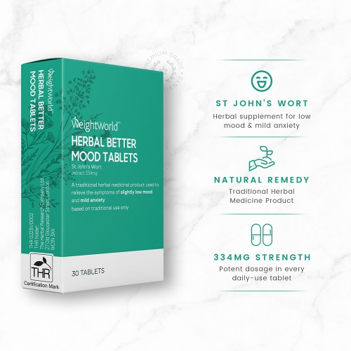 Herbal Better Mood 30 Tablets for Wholesale