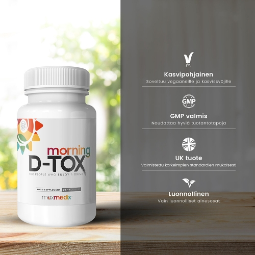 maxmedix Morning D-Tox 48 Capsules For Wholesale