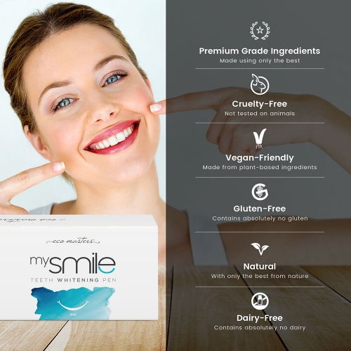 Eco Masters mysmile Teeth Whitening Pen for Wholesale