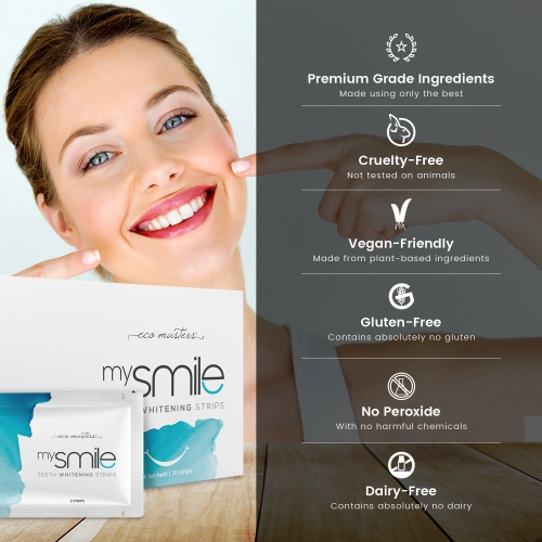 Eco Masters mysmile Teeth Whitening Strips