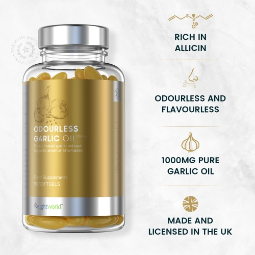 Odourless Garlic Softgels