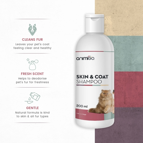 Skin and Coat Shampoo for Wholesale