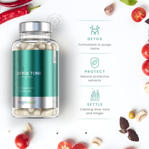 Detox Tone Capsules for Wholesale
