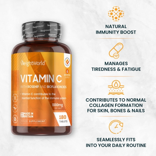 Vitamin C With Rosehip And Bioflavonoids